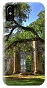 Old Sheldon Church Ruins 2 IPhone Case