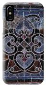 Old Stain Glass Window IPhone Case