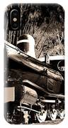 Old Steam Train IPhone Case