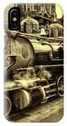 Old Steam Train IPhone Case
