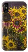 Old Sunflowers IPhone Case