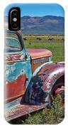 Old Taos Pickup Truck IPhone Case