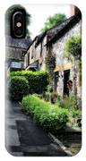 Old Terrace Houses - Peak District - England IPhone Case