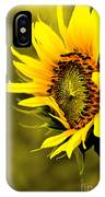 Old Time Sunflower IPhone Case