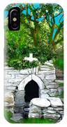 Old Tomb In The Countryside Ireland IPhone Case