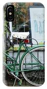 Old Town Bike Stop IPhone Case