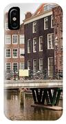 Old Town In Amsterdam IPhone X Case