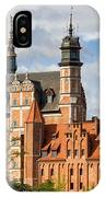 Old Town Of Gdansk In Poland IPhone Case