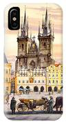 Old Town Square IPhone Case
