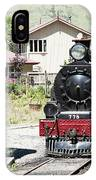 Old Train Engine IPhone Case