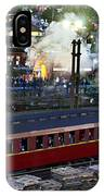 Old Train In The Village - Paranapiacaba IPhone Case