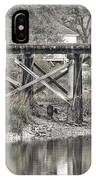 Old Train Trestle IPhone Case