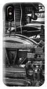 Old Train Wheel IPhone Case