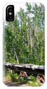 Old Tramway In Canyon City  Miles Canyon Trail Near Whitehorse-yk IPhone Case