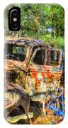 Old Trucks And Old Bicycles IPhone Case