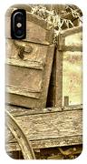 Old Trunks In Genoa Nevada IPhone Case