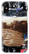 Old Tucson Arizona Composite Of Artists Performing There 1967-2012 IPhone Case