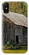 Old Vermont Barn IPhone Case