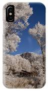 Old Wagon  Horse Frost And Jim Mountain   #3945 IPhone Case
