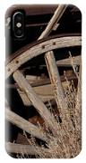 Old Wagon Wheel   #4396 IPhone Case