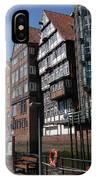 Old Warehouses Port Of Hamburg  IPhone Case