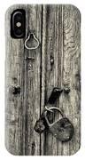 Old Weathered Door IPhone Case