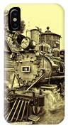 Old Western Railroad IPhone Case
