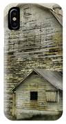 Old White Barn IPhone Case