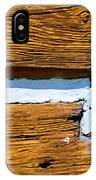 Old Wooden Houses Timbers IPhone Case