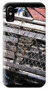 Old Wooden Lobster Pot IPhone Case