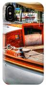 Old Wooden Sailboat IPhone Case