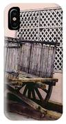 Old Wooden Wagon IPhone Case