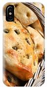Olive Bread IPhone Case