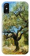 Olive Tree On Van Gogh Manner IPhone Case