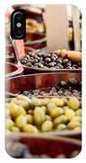 Olives In Barrels IPhone Case