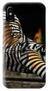 Olivia Wild And The Tiger IPhone Case