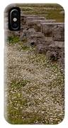 Olympia Ruins And Wild Flowers   #9678 IPhone Case