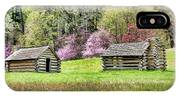 On A Hill At Valley Forge IPhone X Case