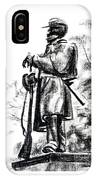 On Duty In Brigadoon  No Ch101 IPhone Case