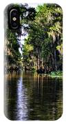 On Golden Canal IPhone Case