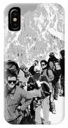 On Mount Blanc IPhone Case