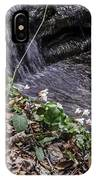 On The Banks Of The Rapids IPhone Case