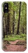 On The Enchanted Path IPhone Case