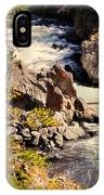 On The Firehole IPhone Case