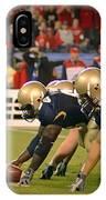 On The Goal Line - Notre Dame Vs Utah IPhone Case