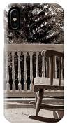 On The Porch IPhone Case
