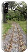 On The Right Track IPhone Case
