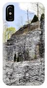 On The Side Of The Mountain IPhone Case
