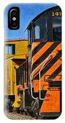 On The Tracks IPhone Case