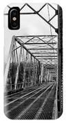 On The Washingtons Crossing Bridge IPhone Case